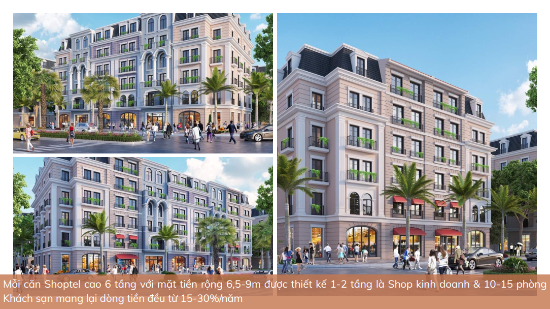 Thiết kế Shoptel Aqua City