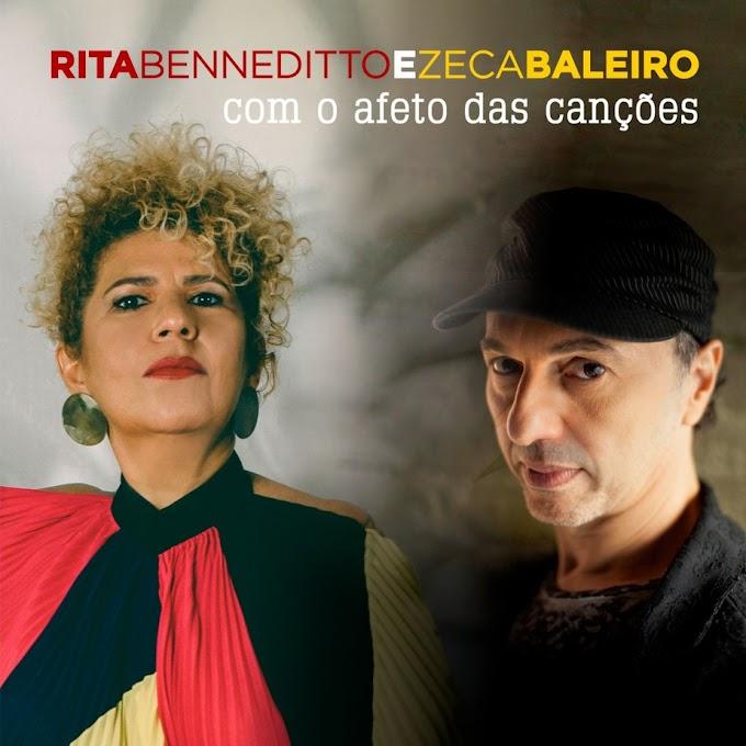 Rita Benneditto se reconecta com Zeca Baleiro em single com afetuoso reggae de Joãozinho Ribeiro