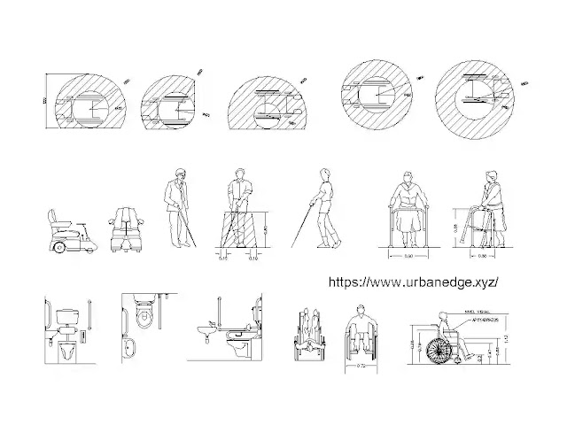 Disabled peoples cad blocks download, 15+ cad blocks for disable peoples