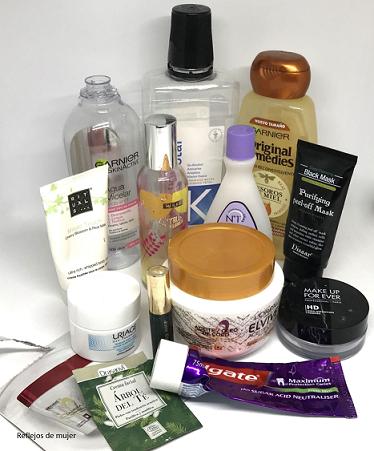 Productos terminados noviembre 2018