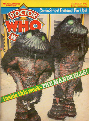 Doctor Who Weekly #18, the Mandrells