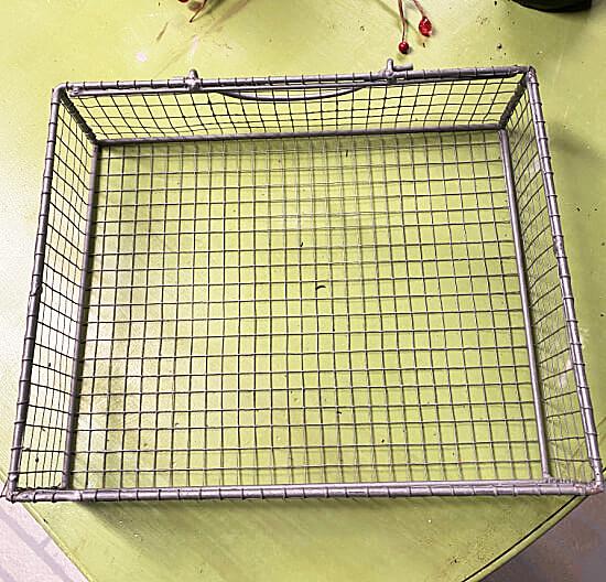 wire basket drawer