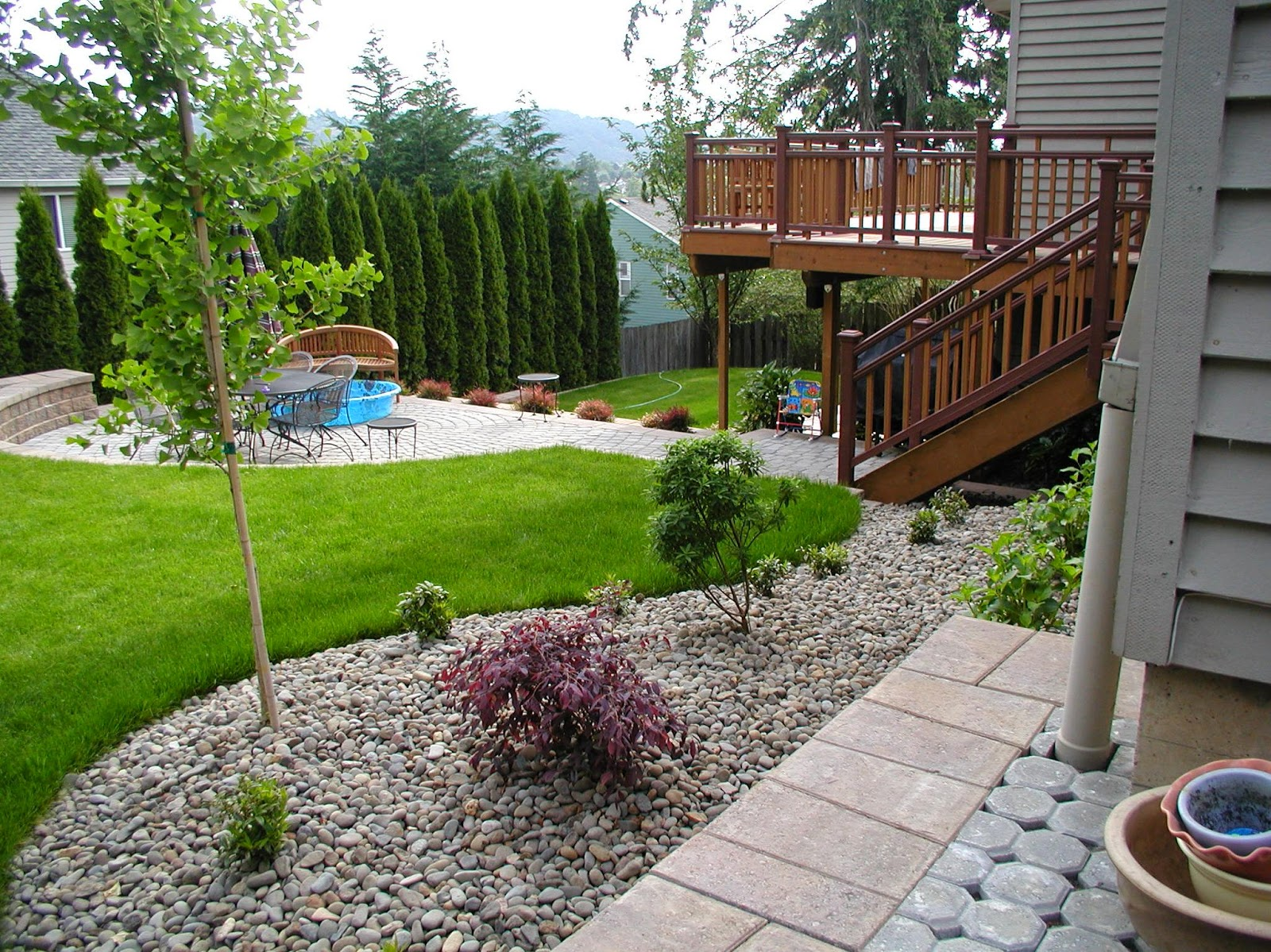 backyard landscaping: Januari 2015 on Backyard With Slope Ideas  id=59231