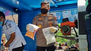 Ditresnarkoba Polda Jateng Musnahkan Sabu 8,1 Gram Dan 5.708 Butir Ekstasi