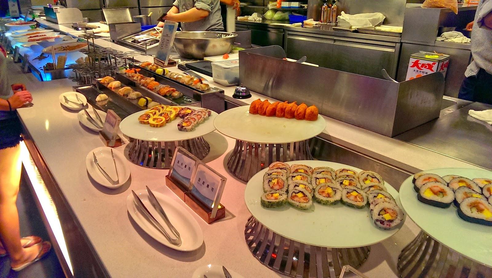 2015 07 01%2B19.15.13 - [食記] 台北京站 - 饗食天堂,有生魚片吃到飽的高級自助餐廳!