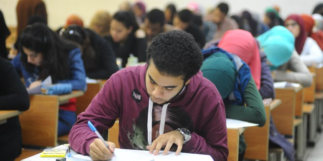 إجابة امتحان الرياضيات للصف الاول الثانوى الترم الثاني 2019 شهر مايو