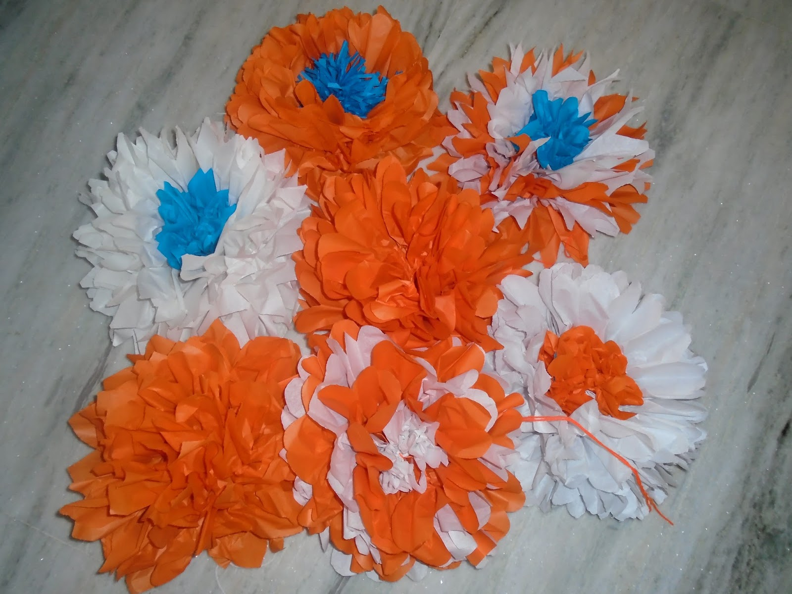Get From Mom Paper Flower Tutorial