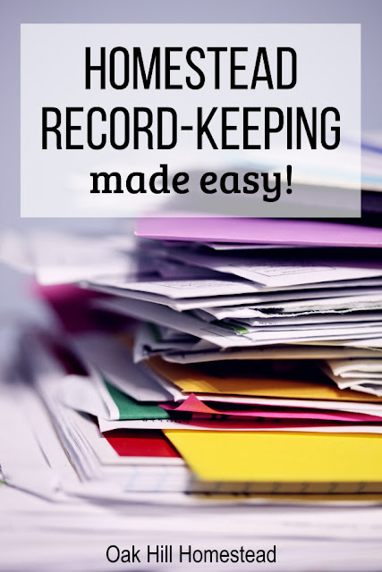 Who has time to keep records of their livestock and homestead? Try these tips to make it easier.