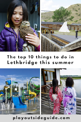 The top 10 things to do in Lethbridge this summer Pinterest pin