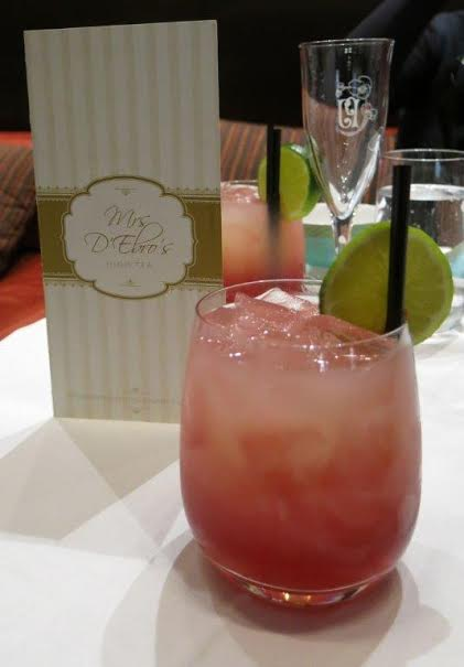 High Tea at the Intercontinental - Rialto: mocktail