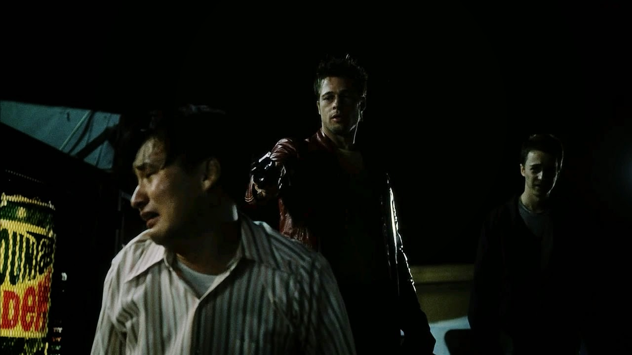 fight club joon kim brad pitt edward norton