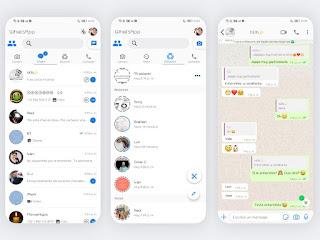 IOS 2 Theme For YOWhatsApp & GB WhatsApp By Ethel