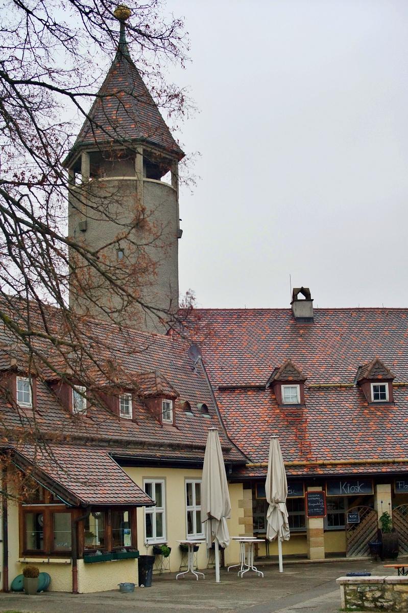 Innenhof der Burg Teck