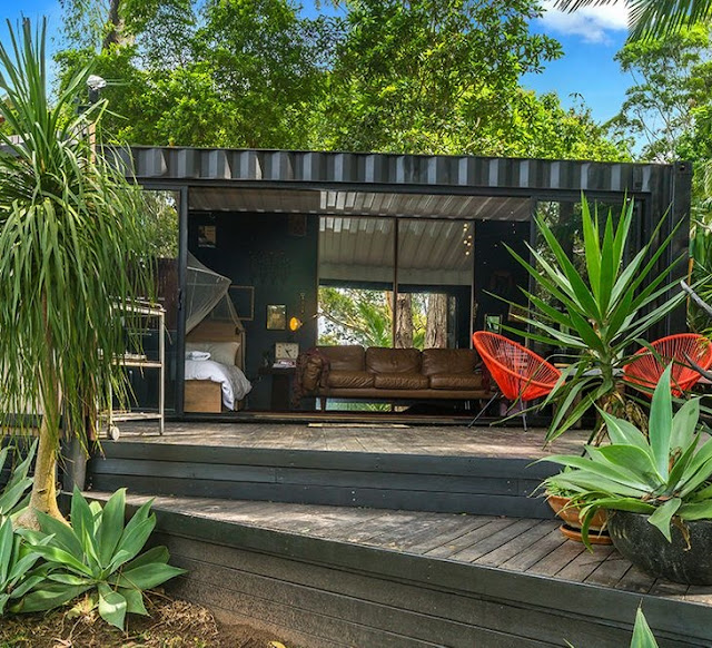 20 ft Small and Cozy Shipping Container House, NSW, Australia 4