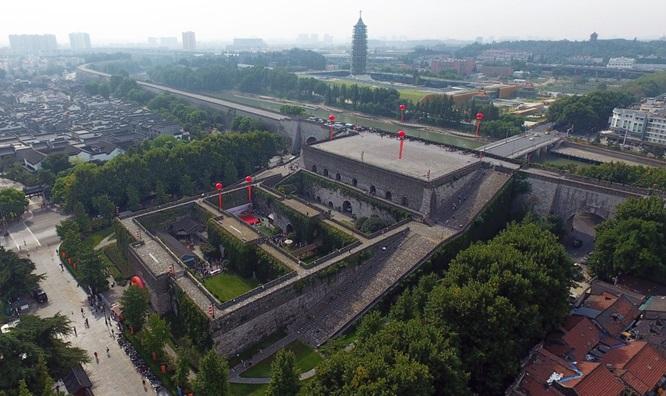 กำแพงเมืองหนานจิง (City Wall of Nanjing)
