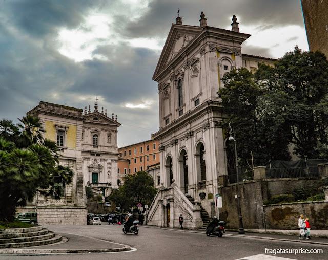 Igreja de Santa Catarina de Siena em Magnanapoli, Roma