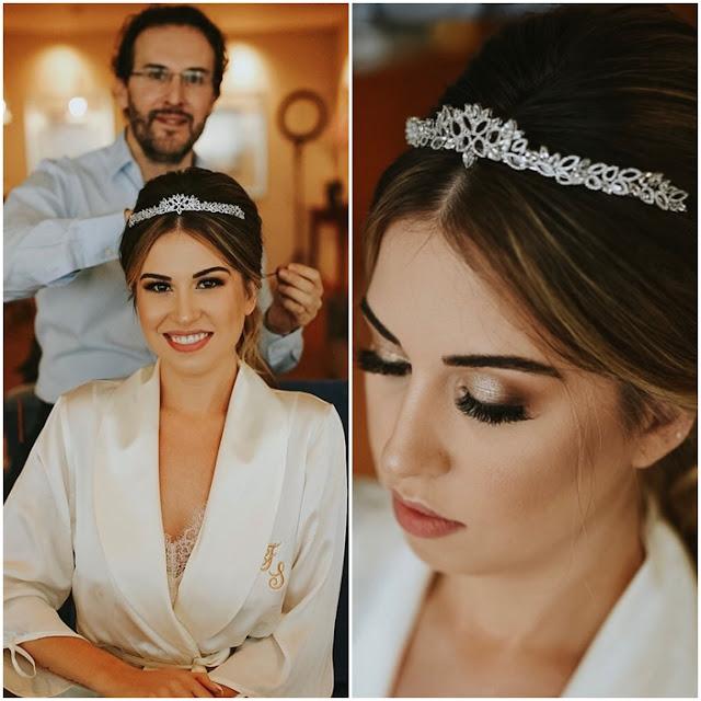 maquiagem Fabi Santina casamento