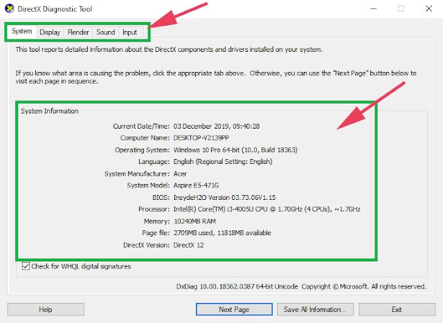 Cara Melihat Spesifikasi Laptop/Komputer di Windows 10 (RAM, Processor, VGA)