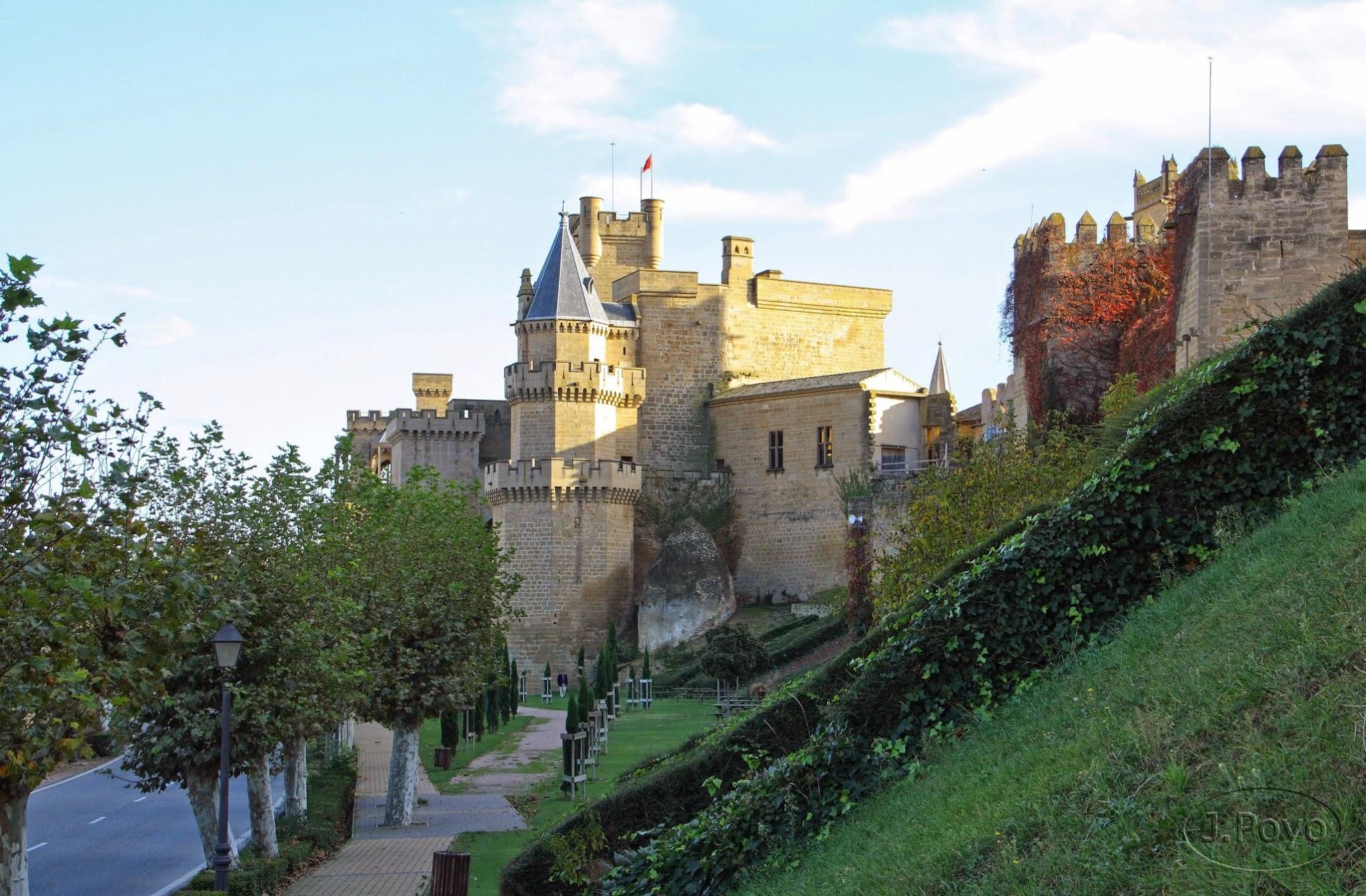 Palacio real y Palacio Viejo de Olite