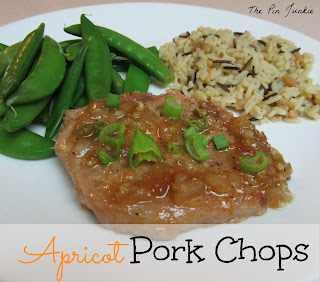 apricot glazed pork chops