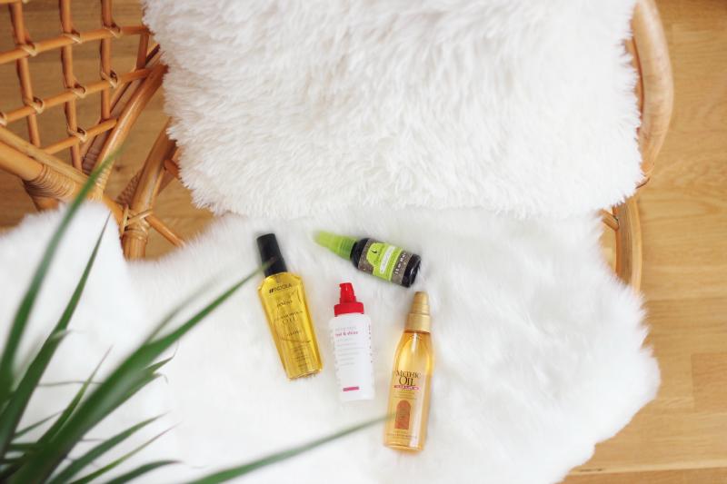 silikonowe serum na włosy na końcówki olejek mythic oil macadamia