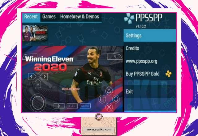 WINNING ELEVEN 2020-2021 Iso Ppsspp Update Transfer Pemain & Jersey Terbaru
