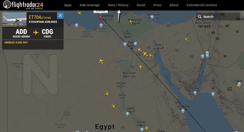 تتبع الرحلات Flights Tracker تتبع 3