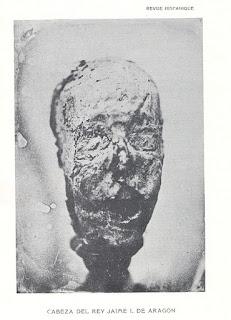 Presunto cráneo de Jaume I