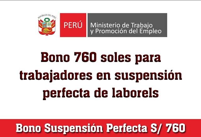ATENCIÓN: Revisa Si Te Toca Cobrar El BONO SUSPENSIÓN PERFECTA