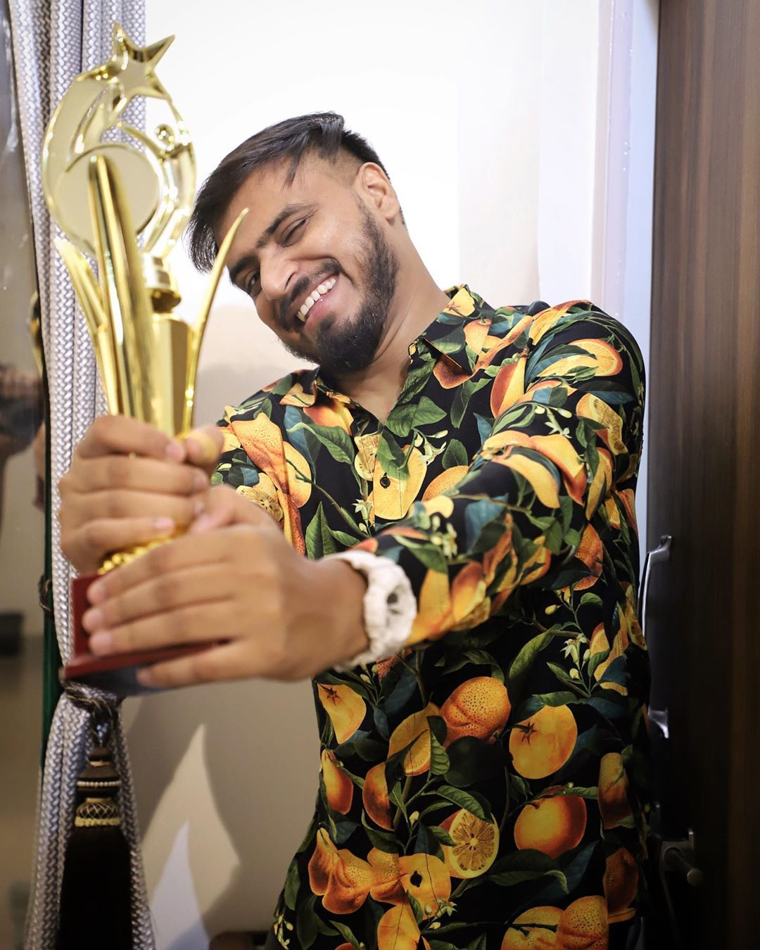 Amit Won Viral Content Of The Year Award