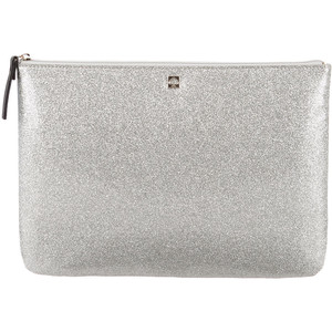 Kate Spade New York's glitter-embellished clutch