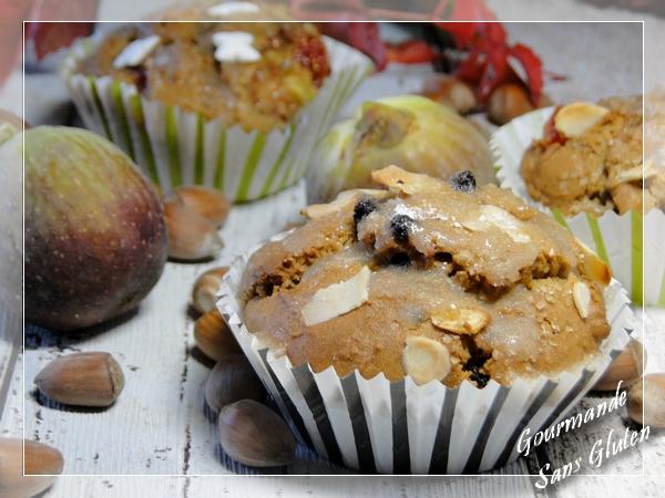 mini cake ou muffin sans gluten  myrtille et citron