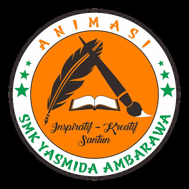 Desain Logo Jurusan Animasi SMK Yasmida Ambarawa