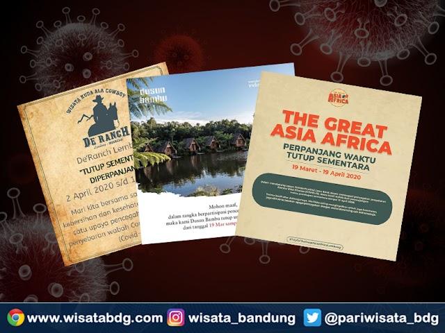 Bulan April 2020, Tempat-Tempat Wisata di Bandung Ini Perpanjang Masa Penutupan Sementara
