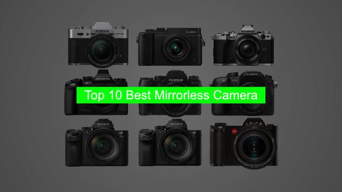 Top 10 Best Mirrorless Camera in India - हिंदी