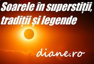 Superstiții despre soare