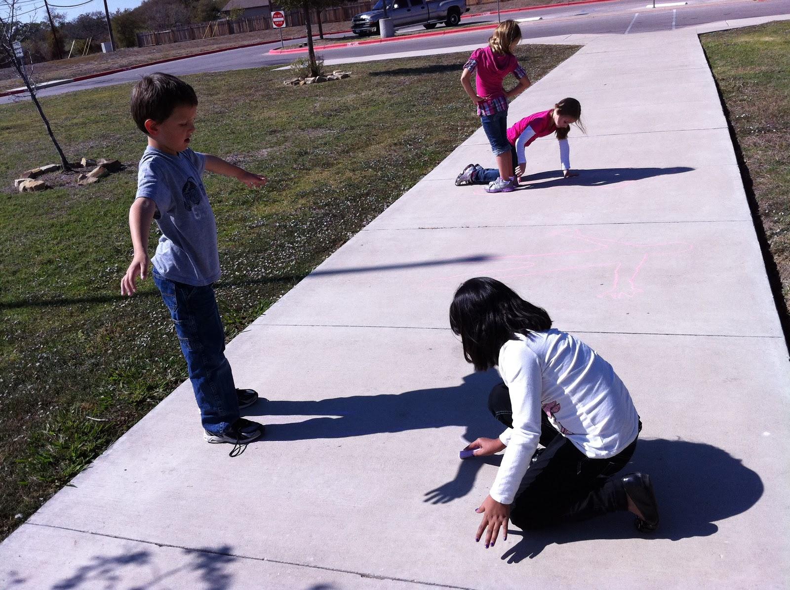 Fun In First Grade Shadow Play