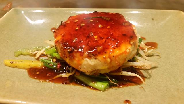 Goma Tofu Steak