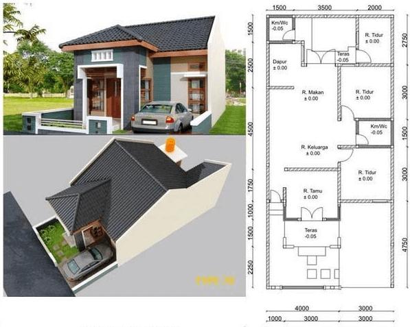 50 Gambar Desain Rumah Garasi 3 Mobil Yang Bisa Anda Tiru