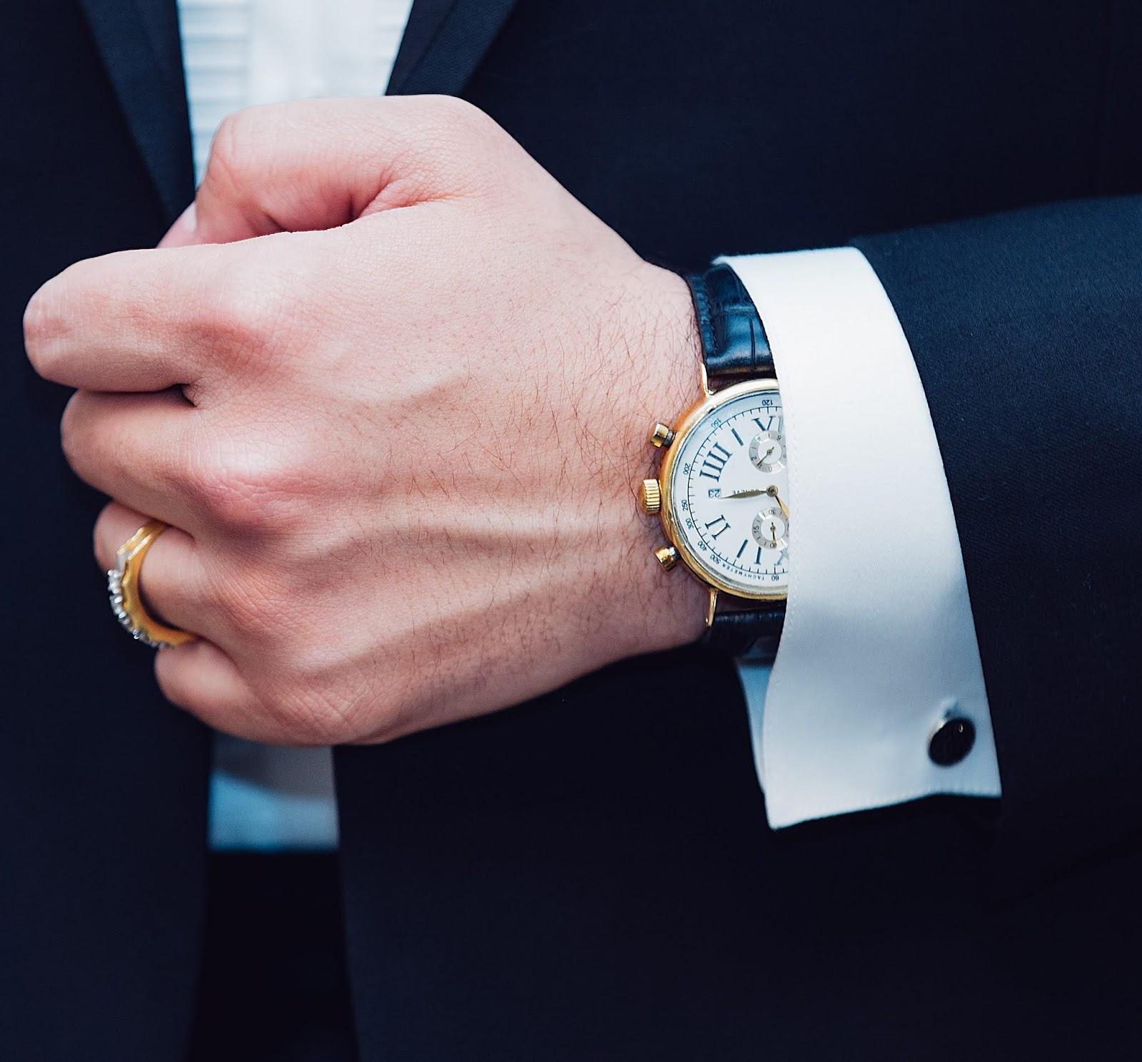 Business Men Wristwatch DP