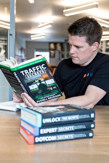 Traffic Secrets Book by Russell Brunson