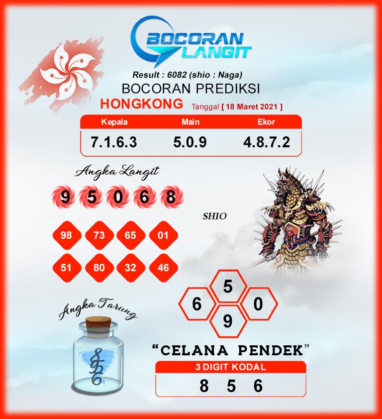 Bocoran HK SKamis 18 Maret 2021