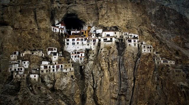 El Monasterio Phugtal, India