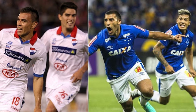 Cruzeiro vs Nacional Asuncion en vivo