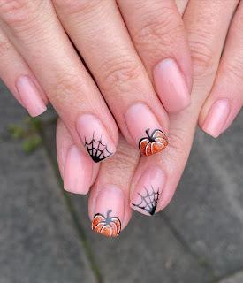 Spider Web Nails Design 2021