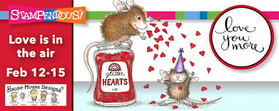 Stampendous Love is in the air