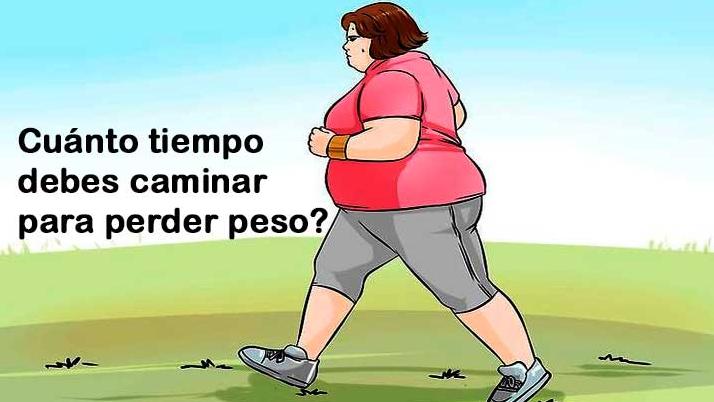 Bajar de peso caminando diario puede
