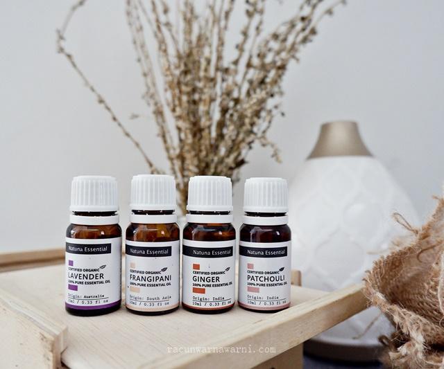 Natuna Essential Oil Lavender Frangipani Ginger Patchouli
