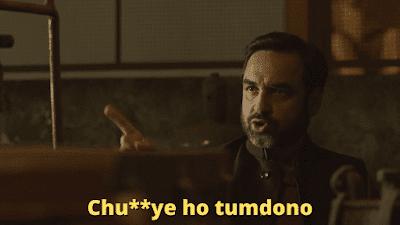Chu**ye ho tum dono | Mirzapur Meme Templates