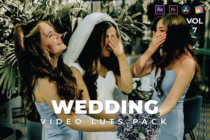 Wedding Pack Video LUTs Vol.7